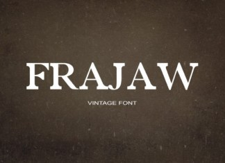 Frajaw Font