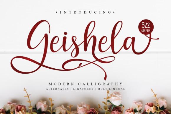 Geishela Font