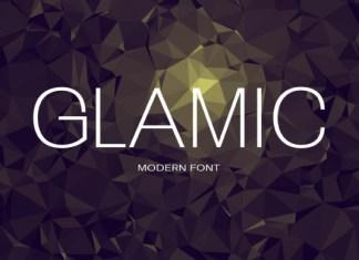 Glamic Font