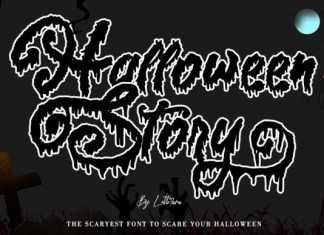 Halloween Story Font