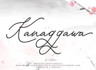 Kanaggawa Font
