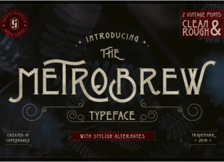 Metrobrew Font