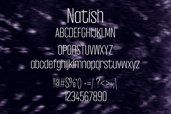Natish Font