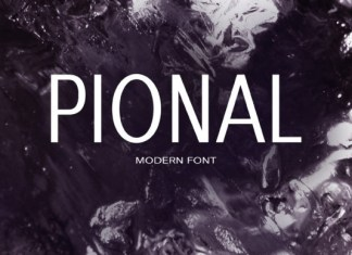 Pional Font