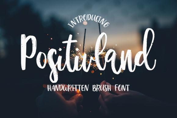 Positivland Font