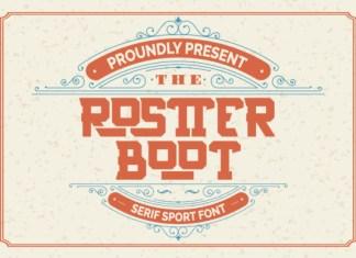 Rostter Boot Font