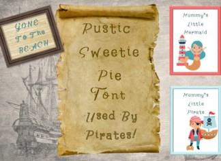 Rustic Sweetie Pie Font