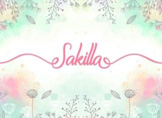 Sakilla Font