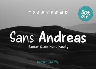 Sans Andreas Font