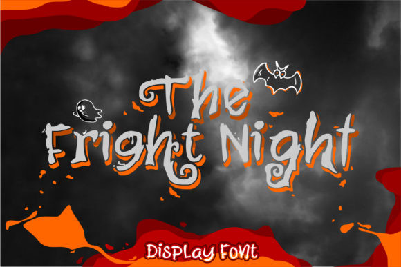 The Fright Night Font