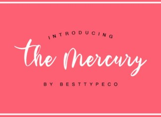 The Mercury Font
