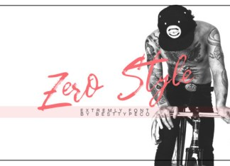 Zero Style Font