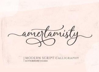 Amerta Misty Font
