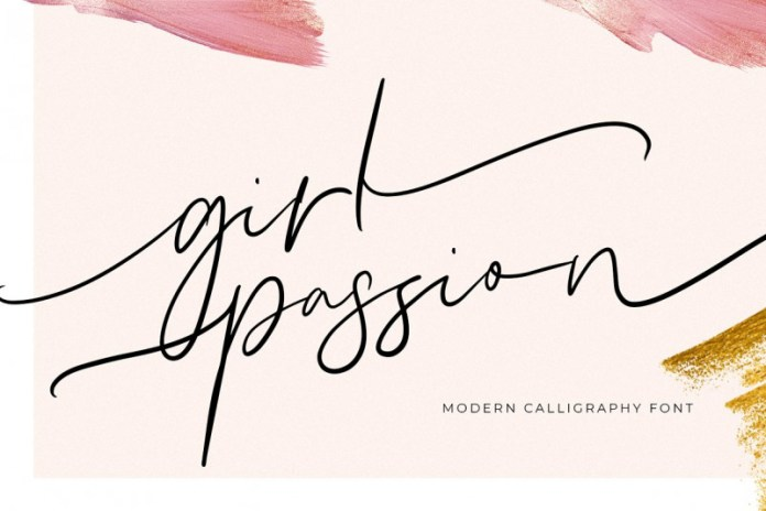 Girl Passion Font