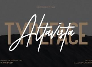 Altavista Font