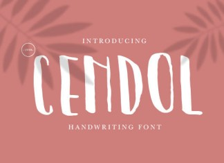 Cendol Font