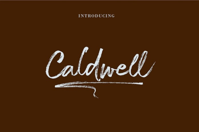 The Caldwell Font