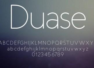 Duase Font