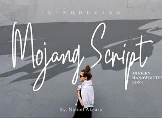 Mojang Font