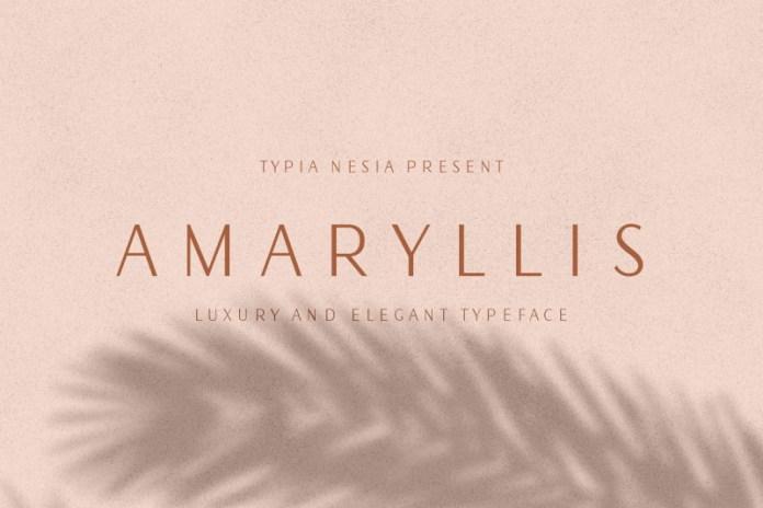 Amaryllis Font