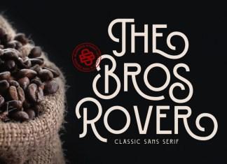 Bros Rover Font