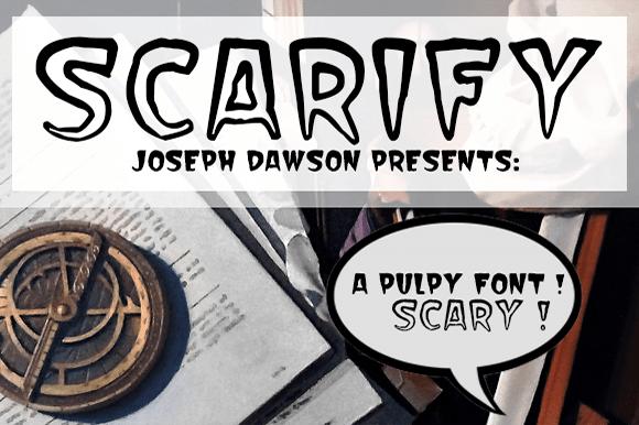 Scarify Font