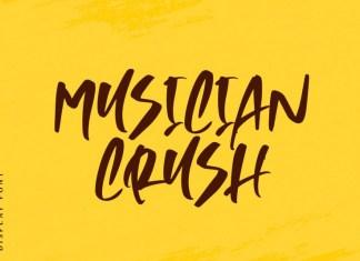 Musician Crush Font