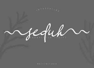 Seduh Font