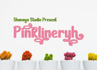 Pinklineryh Font