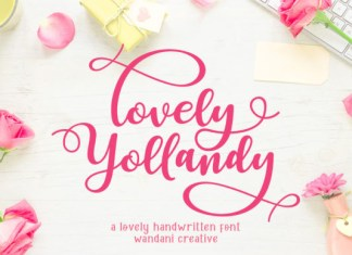 Lovely Yollandy Font