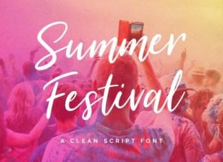 Summer Festival Font