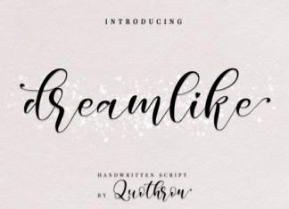 Dreamlike Font