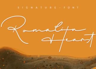 Romalin Heart Font