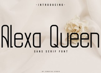 Alexa Queen Font