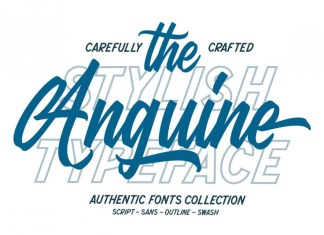 Anguine Font