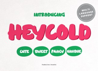 HEYCOLD Font