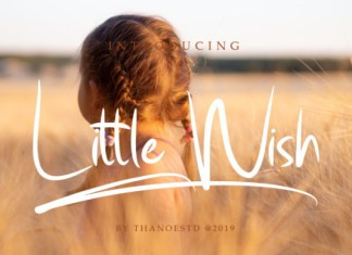 Little Wish Font