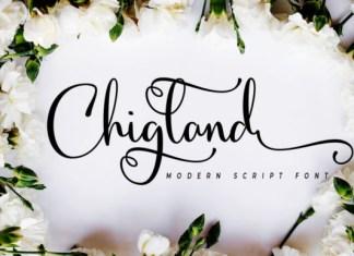 Chigland Font