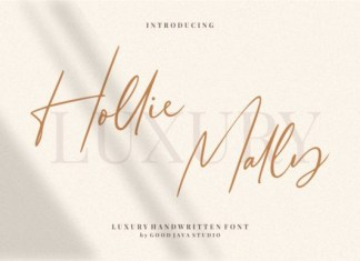 Hollie Mally Font