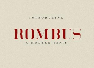 Rombus Font
