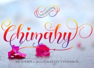 Chimahy Font