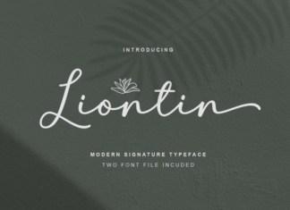 Liontin Font