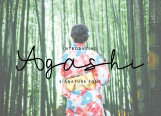 Agashi Font