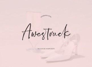 Awestruck Font
