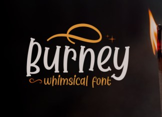 Burney Font