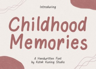 Childhood Memories Font