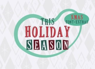 This Holiday Season Font