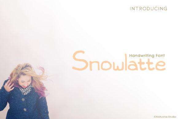 Snowlatte Font