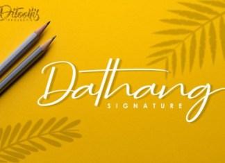 Dathang Font