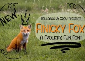 Finicky Fox Font